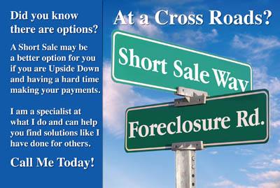 Short sale postcards foreclosure postcards real estate for Short sale marketing letter