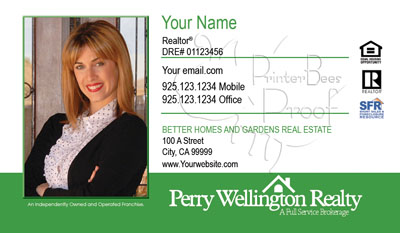 Perry Wellington Cards