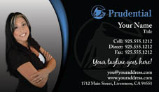 Prudential business card headshot