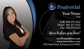 Prudential business cards