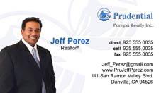 Prudential business cards new logo