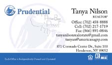 Prudential Business Card Template 9