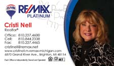 remax business card prnitng