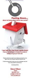 Real Estate Door Hangers Foreclosure Short Sale Just