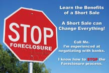 Short Sale Postcard Sample