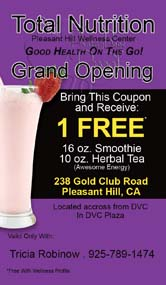 Herbalife smoothie cards