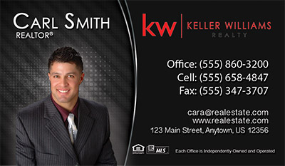 KW business card template