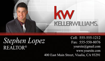 Keller williams business cards 6999 professionally designed and lliams business card template design 4 keller williams flashek Image collections