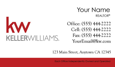 Keller williams business cards 6999 professionally designed keller williams business card templates pronofoot35fo Gallery