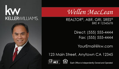 Keller williams business cards 6999 professionally designed and lliams business card template design 21 keller williams business cards flashek Image collections