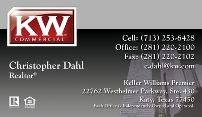 Keller williams business cards 1000 business cards 4999 no keller williams commercial business card pronofoot35fo Gallery