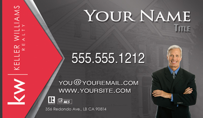 The Best Keller Williams Business Card with Headshot