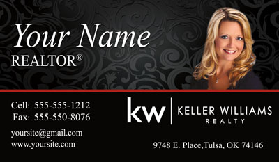 Keller williams business cards 6999 professionally designed and keller williams business card with new logo flashek Image collections