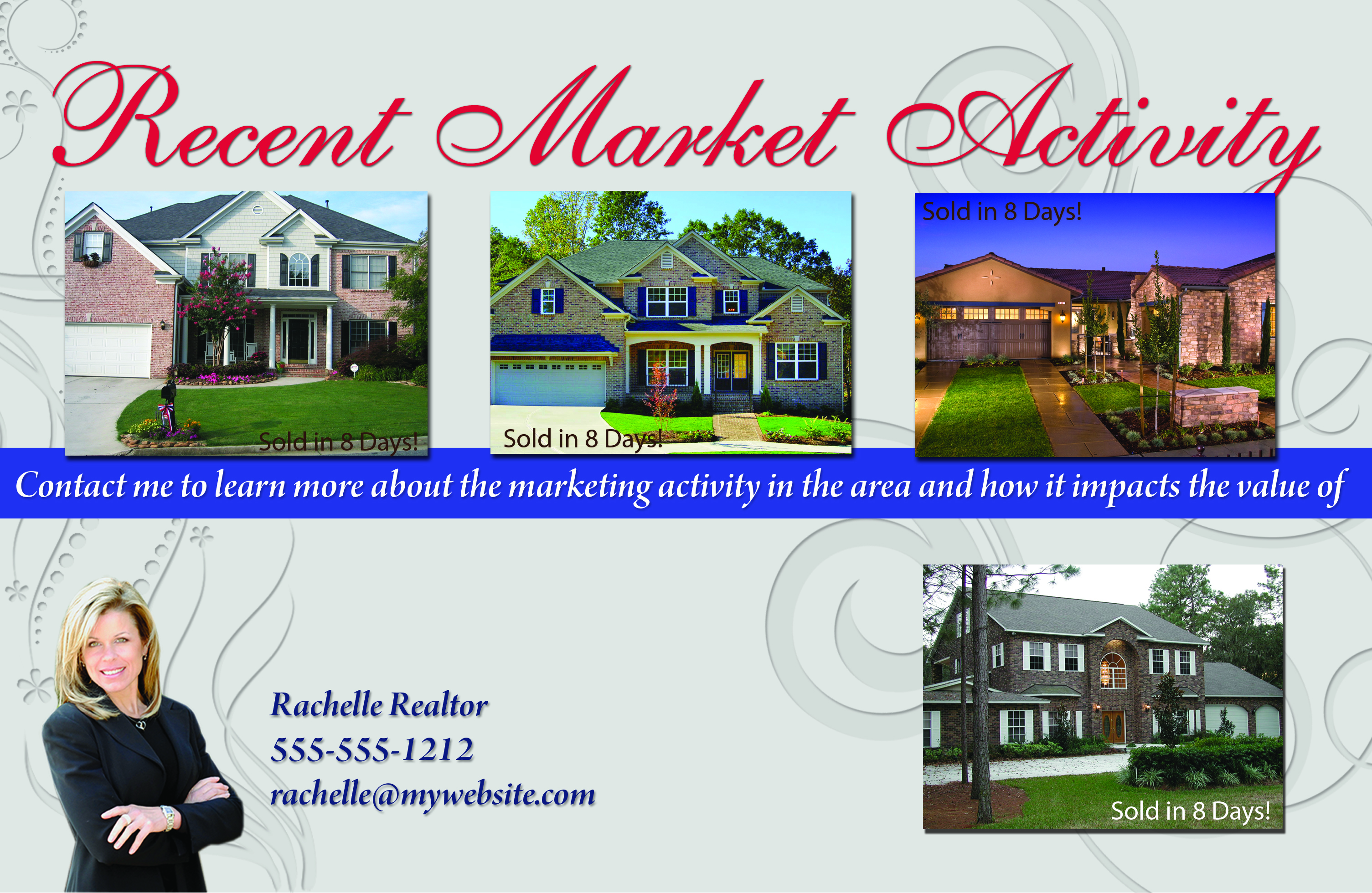 Real Estate Marketing Postcards Flyers & Brochures for Real Estate ...