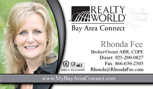 Real estate cards 1000 business cards 6999 includes design realty world business cards wajeb Image collections