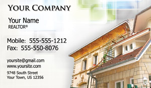 real estate card - tempate  26