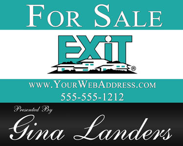 Real Estate Yard Signs High Quality For Sale Signs For