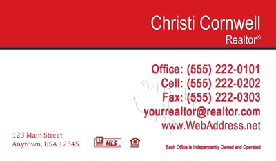Remax Business Card Template 45