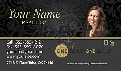 Realty One Business Cards 6999 Professionally Designed And