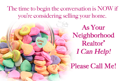 valentines day postcards for realtors your favorite design is customized by a graphics designer no extra charge - Valentine Real Estate