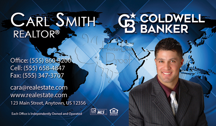Coldwell banker business cards 1000 business cards 4999 no coldwell banker business card reheart Gallery