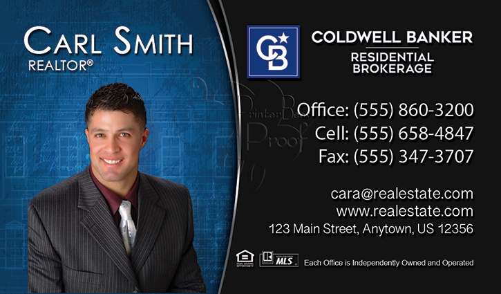 Coldwell Banker Business Card