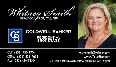 Coldwell banker business cards free shipping and design no coldwell banker business card template 26 reheart Images