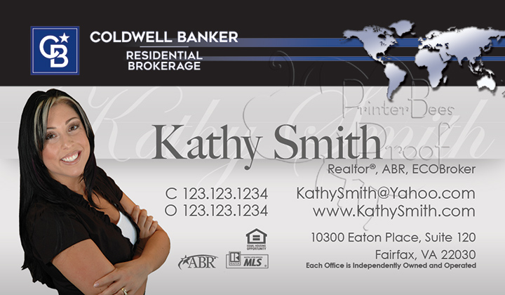 Coldwell banker business cards 1000 business cards 4999 no coldwell banker business card reheart Choice Image