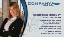 color business cards for realtors