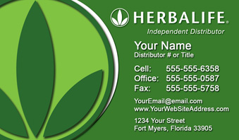 Herbalife business cards free shipping and design no additional herbalife business cards new logo wajeb Choice Image