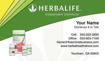 Herbalife business cards free shipping and design no additional herbalife business card template 15 cheaphphosting Choice Image