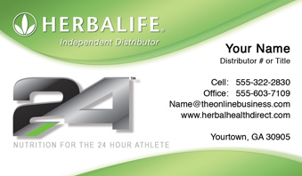 Herbalife business cards free shipping and design no additional herbalife business card template 19 wajeb Choice Image