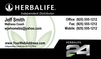 Herbalife business cards free shipping and design no additional herbalife business card template 20 reheart Images
