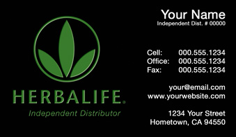 Herbalife business cards free shipping and design no additional herbalife business card template 5 flashek Image collections