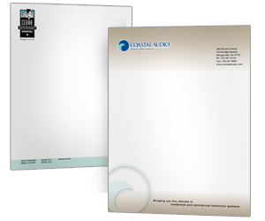 Letterhead 1000 pieces of custom printed color letterhead on sale leterhead printing sample spiritdancerdesigns Gallery
